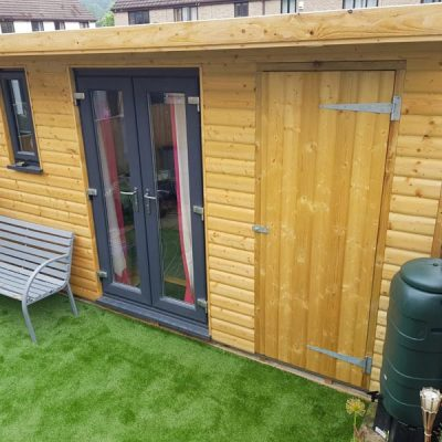 bespoke garden room derbyshire peak district
