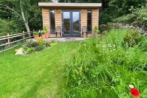log cabin garden buildings derbyshire