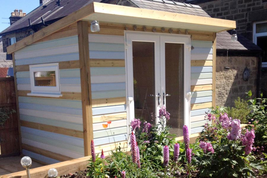 wooden timber garden buildings derbyshire