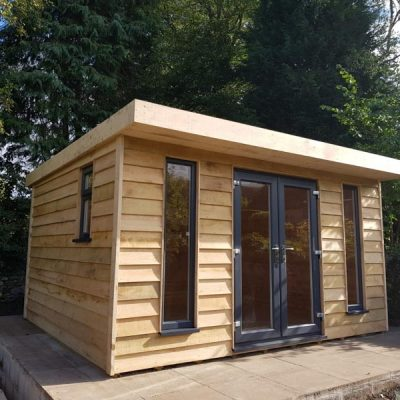 Oak-log-cabin-garden-room-calver-derbyshire-7