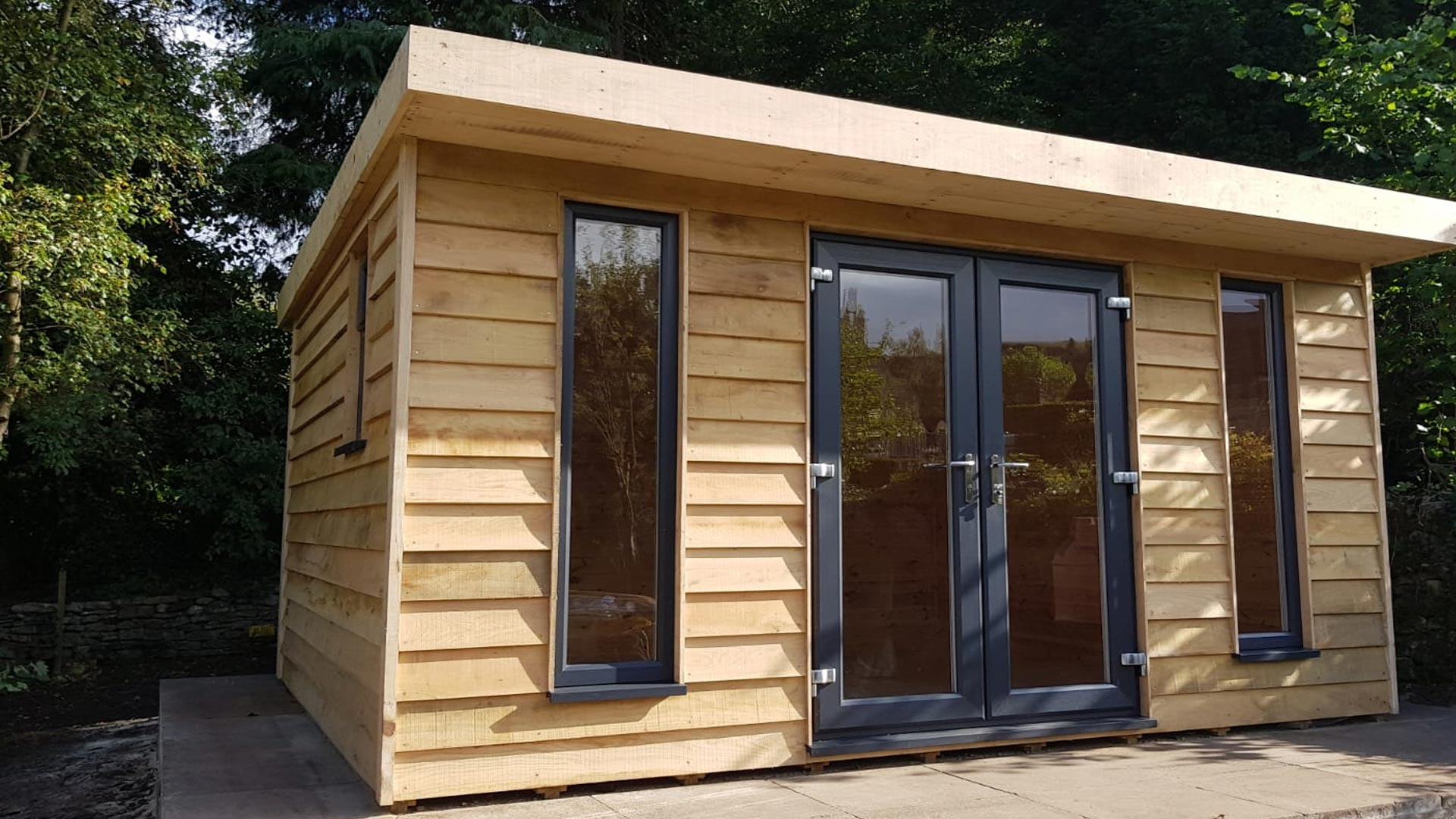 garden buildings and log cabins derbyshire