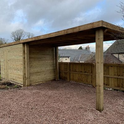 shed and carport matlock derbyshire