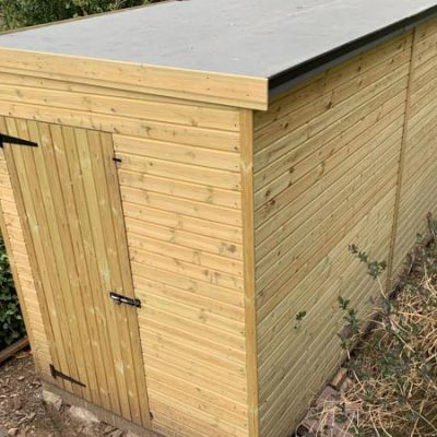 bespoke garden shed tool store derbyshire