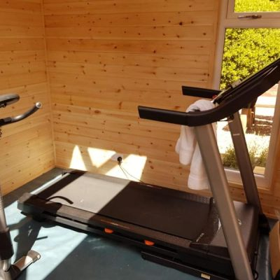 bespoke garden gym tansley derbyshire