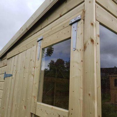 bespoke timber potting shed darley dale derbyshire